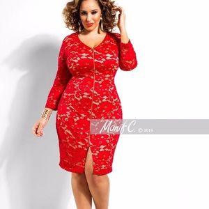Monif C Skylar dress